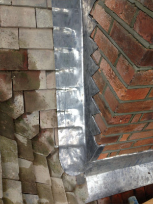 lead flashing repairs Romsey