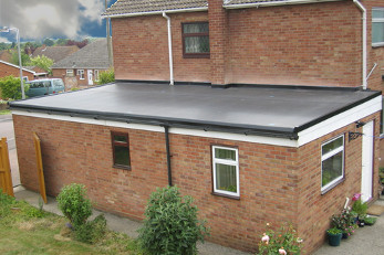 new flat roofing Romsey