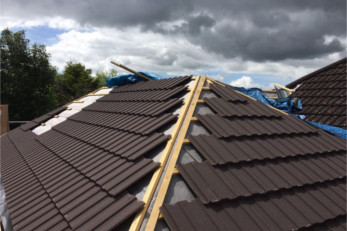 new roofing Holbury